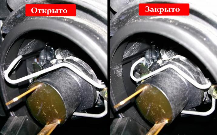 Как сменить лампы ближнего света в Mazda3